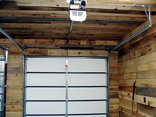 Kingdom-Doors-inside finished barn garag