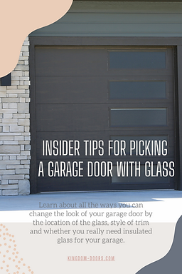 Insider Tips for Picking a Garage Door w