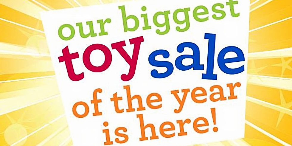Charity Toy Sale-Day 1
