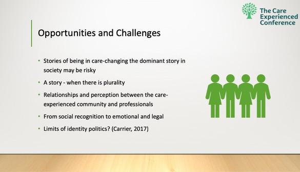 Social Work Conference Slides