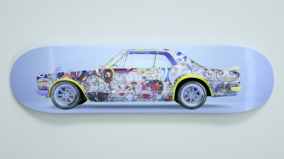 Skyline GT-R x Murakami