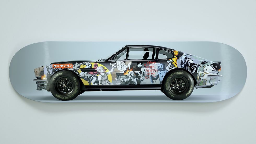 V8 Vantage x Banksy