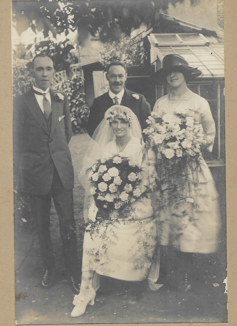 Sam Clark's wedding to Dolly.