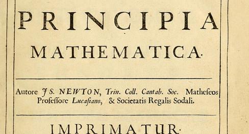 Inspiration from Sir Isaac Newton