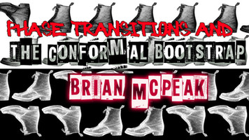 Phase Transitions and the Conformal Bootstrap: Part One