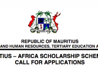 Fully funded Mauritius-Africa Scholarship Scheme 2018