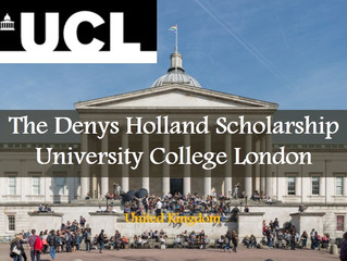 The Denys Holland Scholarship for international students 2018/2019