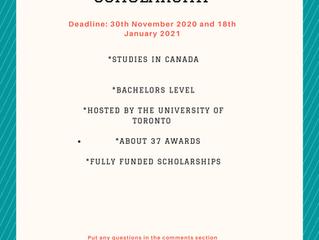 Lester B. Pearson International Scholarship I Scholarships for International Scholarships