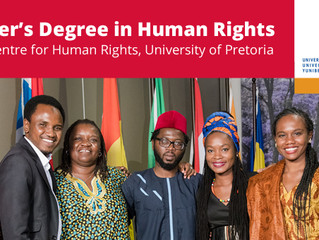 Fully funded Masters scholarships for African Students at University of Pretoria