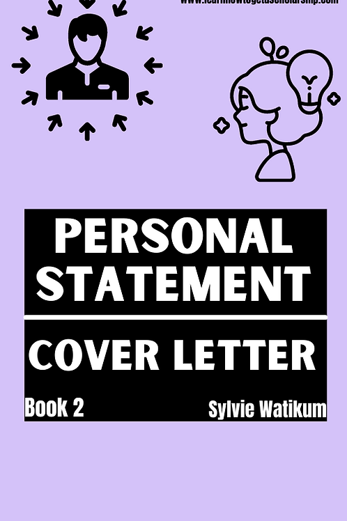 Personal Statement/Cover Letter