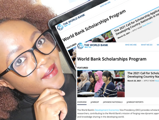 Fully-funded Scholarships for International Students (World Bank Scholarships)