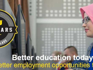 Western Union Scholars program, 2018