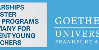 Goethe Goes Global Masters Scholarships for International students