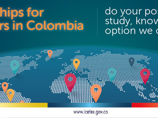 Fully-funded postgraduate scholarships for Foreign Students by the government of Colombia