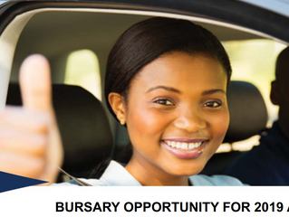 Road Traffic Infringement Agency Undergraduate Bursary for South Africans