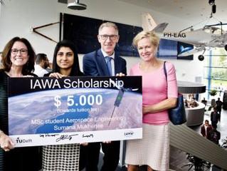 International Aviation Women's Association Scholarship in the Netherlands