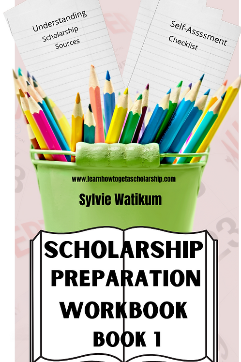 Scholarship Preparation Workbook 1