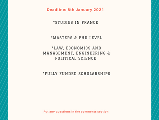Eiffel Excellence Scholarship Program | Scholarships for International Students