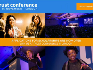 Scholarship for the Trust Human Rights Conference,London,2017