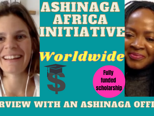 An interview with a scholarship administrator (Ashinaga Africa Initiative Scholarship)