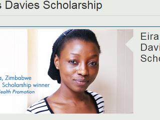University of Swansea Eira Davies Scholarship For Developing Countries
