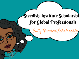 Swedish Institute Scholarship for Global Professionals | This week in Scholarships
