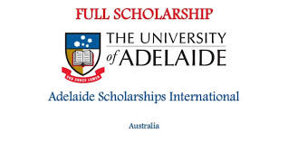 University of Adelaide Scholarships for International students