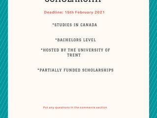 Trent University Scholarship I Scholarships for International Students