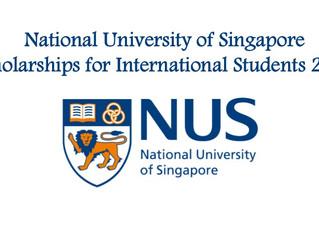 Fully funded National University of Singapore Scholarships for International Students