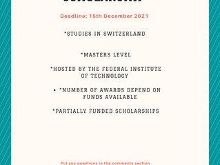 Swiss Federal Institute of Technology Scholarship I Scholarships for International Students