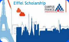 The Eiffel Excellence Scholarship Program 2018-2019