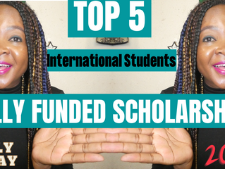 TOP 5 FULLY-FUNDED SCHOLARSHIPS FOR INTERNATIONAL STUDENTS