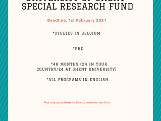 University of Ghent Special Research Fund