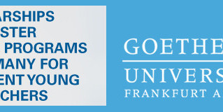 Scholarships for Masters Degree Programs at Goethe University Frankfurt,Germany