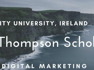 Dublin City University John Thompson MSc scholarship for International Students