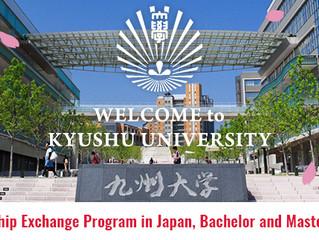 Fully Funded Kyushu University Friendship Scholarship 2018
