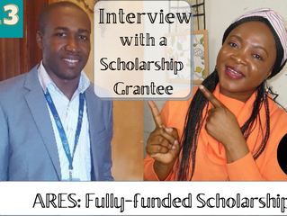 The ARES fully funded scholarship for international Students in Belgium 2021 (An interview)