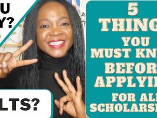 5 things you must know before applying for any scholarship