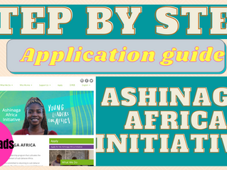 Ashinaga Africa Initiative fully-funded scholarship (step by step application guide)
