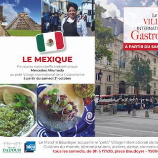 Petit Village - Marché Baudoyer- Mexique