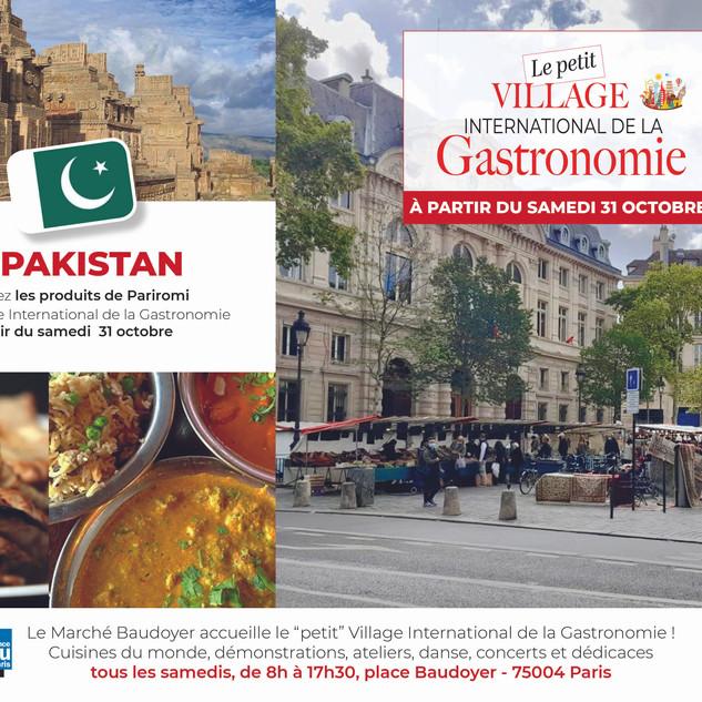 Petit Village - Marché Baudoyer- Le Pakistan