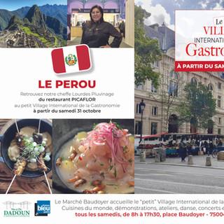 Petit Village - Marché Baudoyer- Pérou