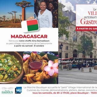 Petit Village - Marché Baudoyer- Madagascar