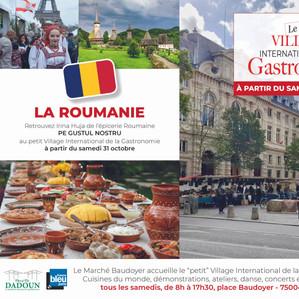 Petit Village - Marché Baudoyer- La Roumanie