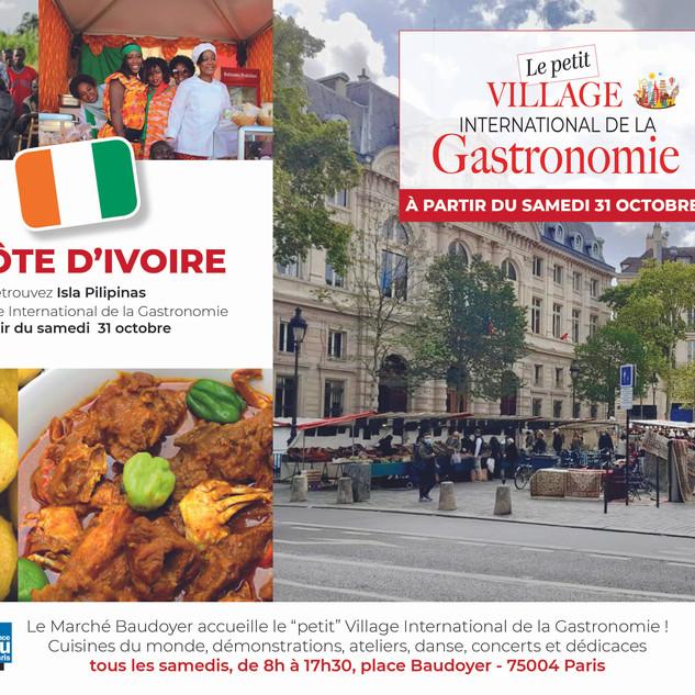 Petit Village - Marché Baudoyer- la Côte d'Ivoire
