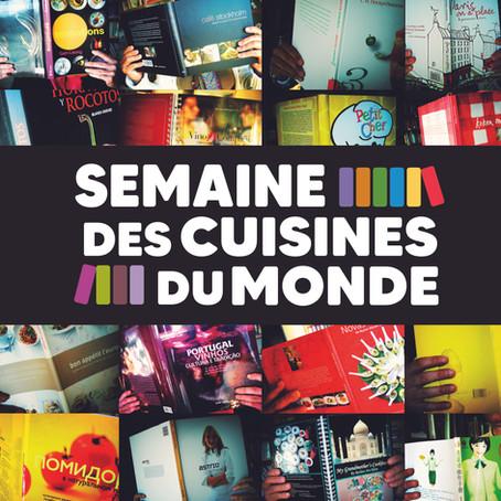 Création de la Semaine des Cuisines du Monde