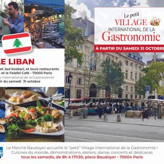 Petit Village - Marché Baudoyer- Le Liban