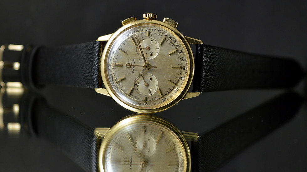 Omega Rare De Ville Chronograph Cal. 320 Gold 18k 35mm