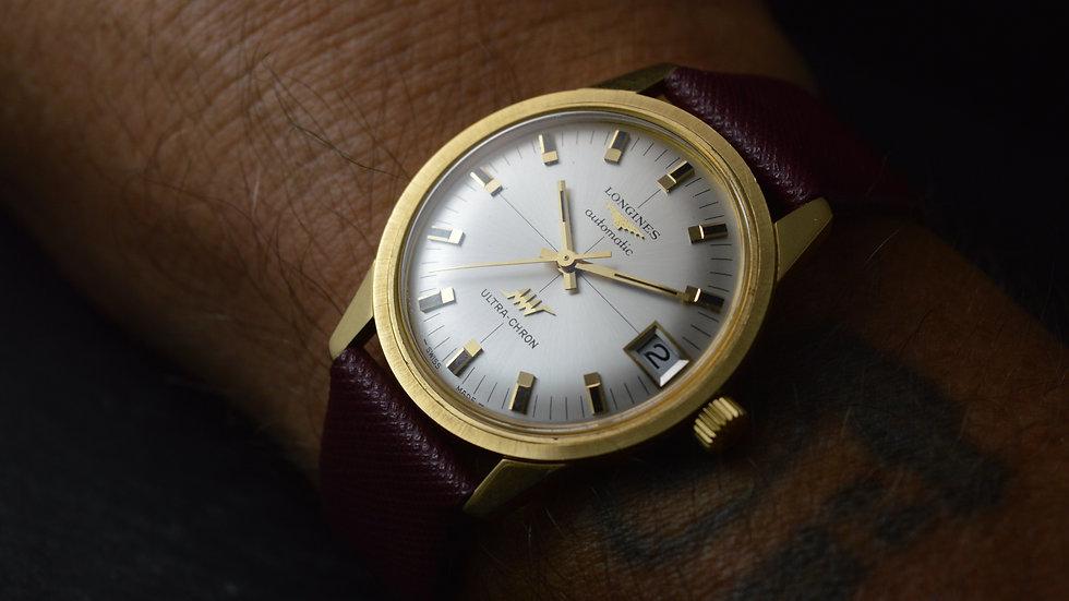 Longines Full Set Ultra-chron 18ct Gold Automatic Cal. 431 Rare