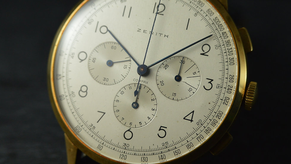 Zenith Ultrarare 46.1mm Compax Oversized Ref. 12526, Cal.166
